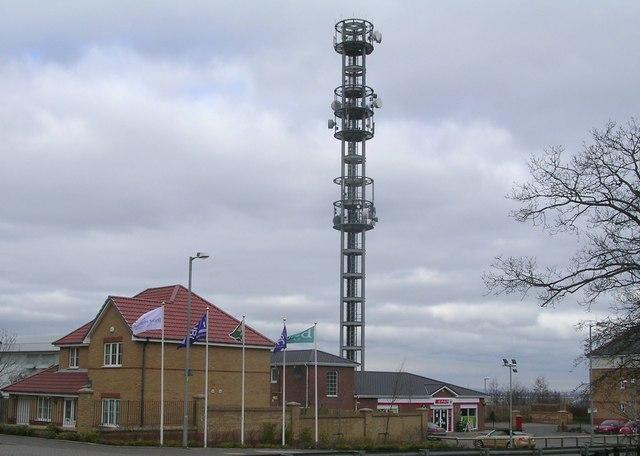 Telecomms Mast, Blantyre Technology Park