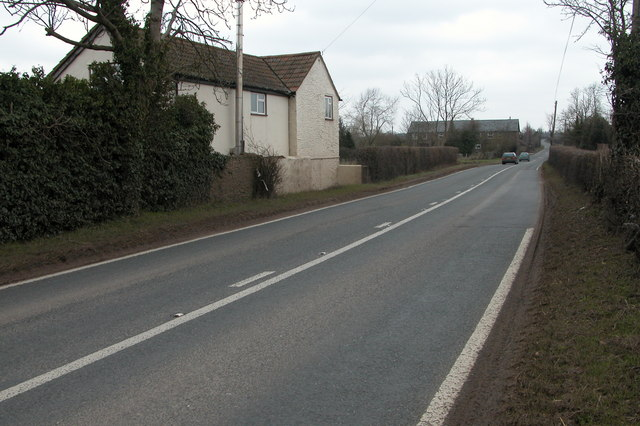 The A4137 south of St Owen's Cross