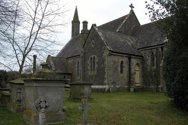 Tretire church