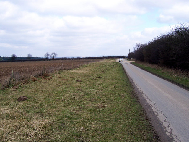 Approaching the B1398 Junction