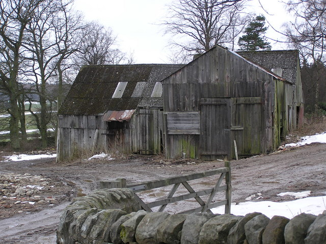 Old Aske Moor Saw Mill.
