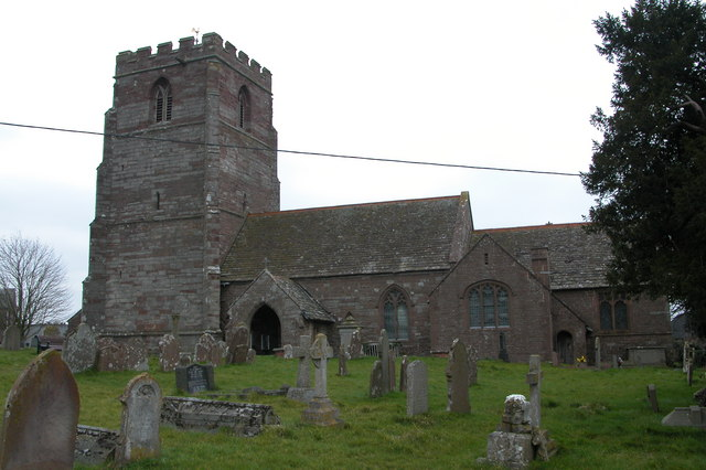 St Weonards church