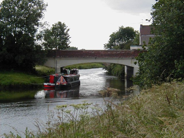 River bridge, Misterton