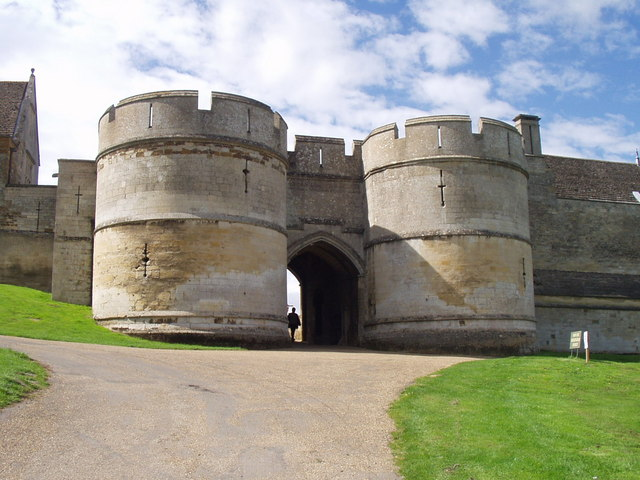Rockingham Castle Entrance
