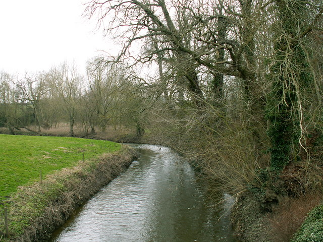 River Perry west of Mytton