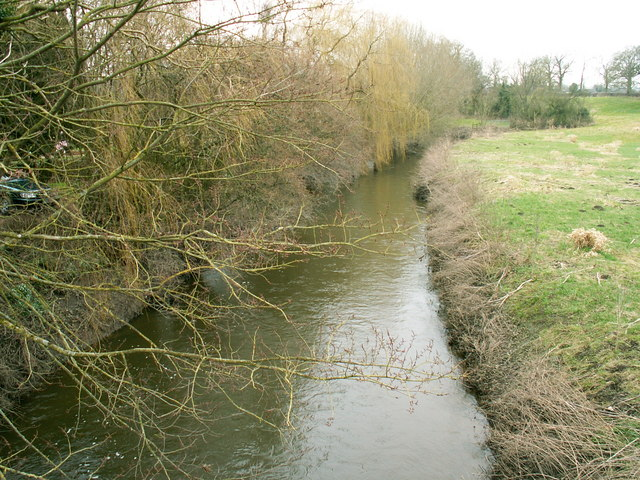 River Perry, south of Mytton