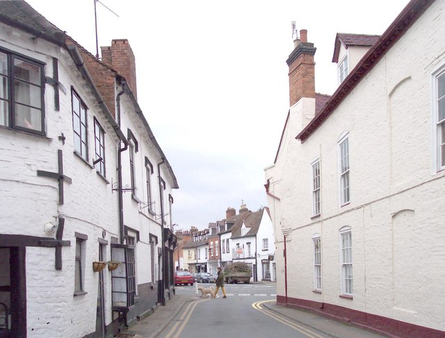 Upton Crossroads from Court Street