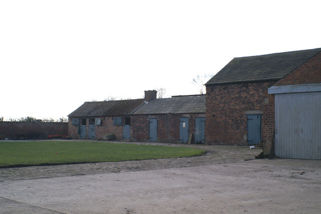 Outbuildings at Moss Side Farm