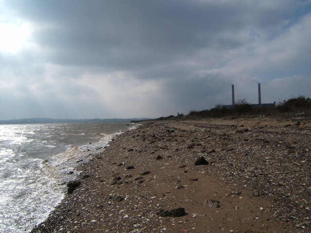 Degraded Beach near Tilbury