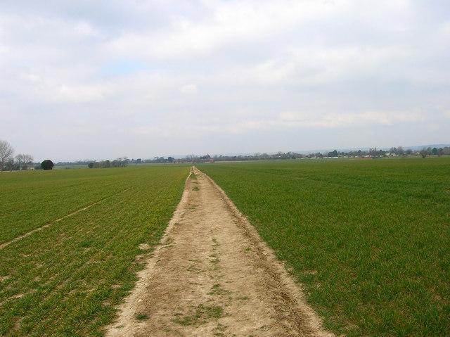 Footpath, near Yapton