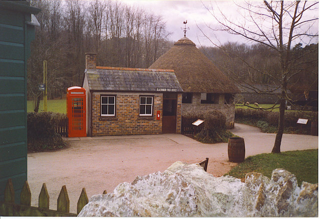 Post Office and Cock Pit, Museum of Welsh Life.