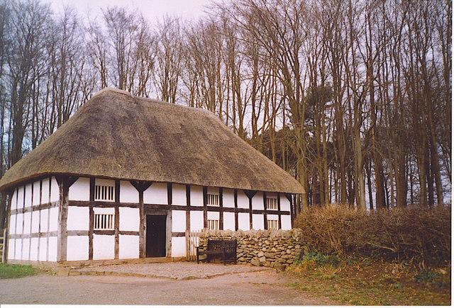 Abernodwydd Farmhouse, Museum of Welsh Life.