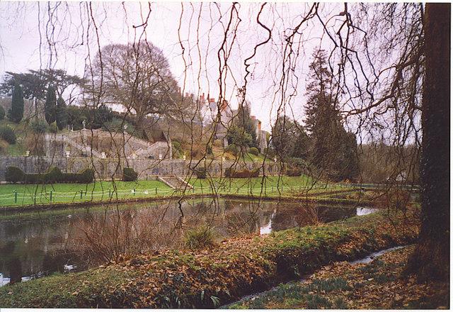 St Fagans Castle Gardens.