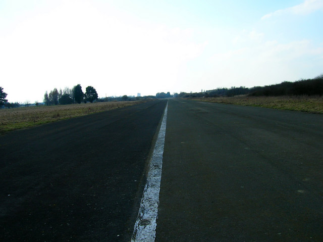 Disused airfield, near Bognor Regis