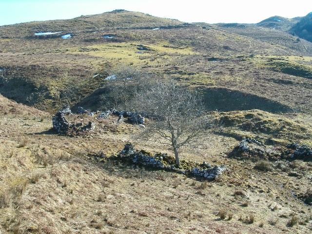 Ruin at Garbhallt
