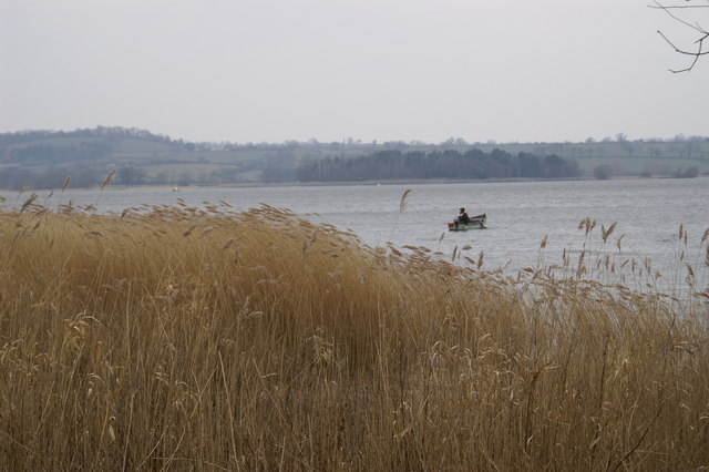 Fisherman On Chew Valley Lake