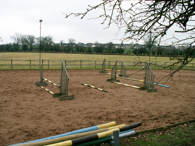 Equestrian centre at Pulley