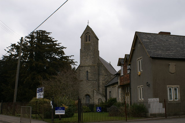 Church &amp; Primary School in Bishop Sutton