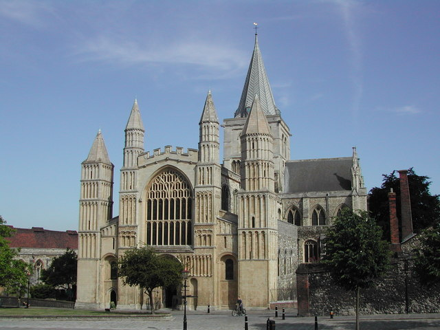 Rochester Cathedral - west end