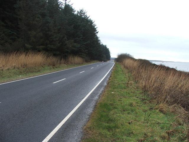 The A83 near Achnafad.