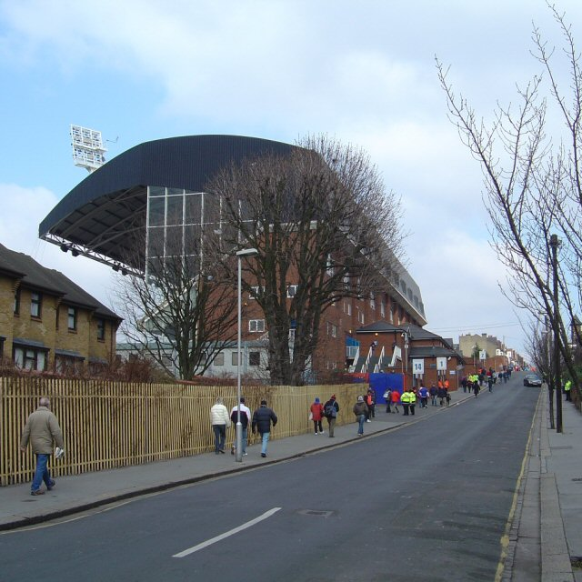 Selhurst Park, Holmesdale Road Stand
