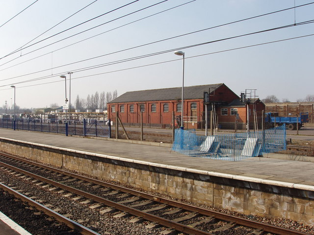 Railway shed, former Acton goods yard
