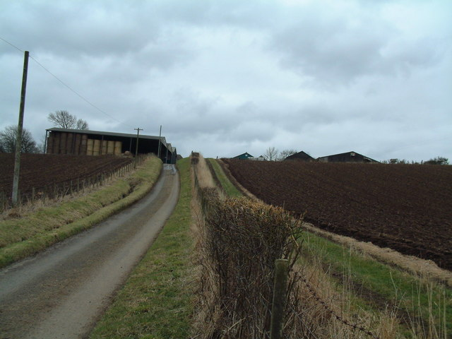 Gasconhall Farm road
