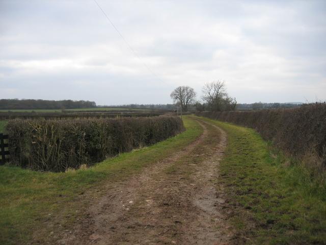 Bridleway from Morton Underhill