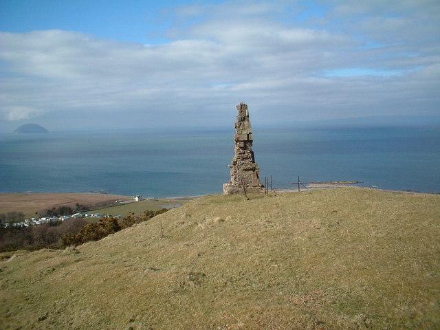 Monument on Byne Hill