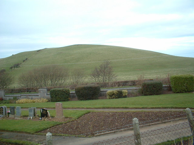 Shalloch Hill and cemetery