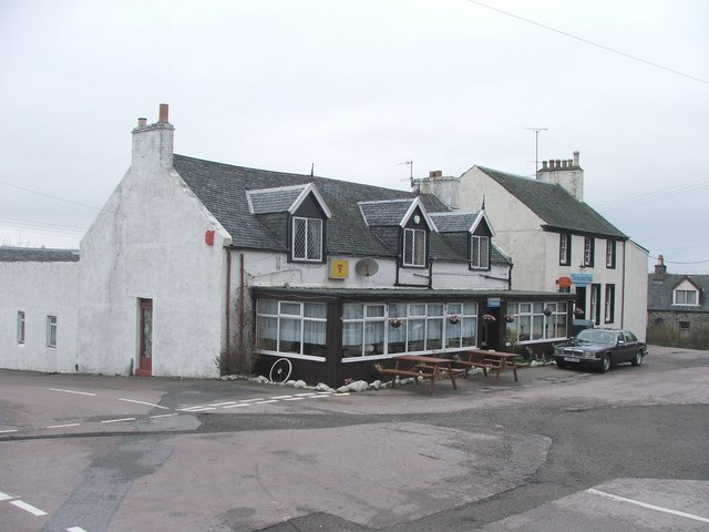 Pub and Post Office at Tayinloan.