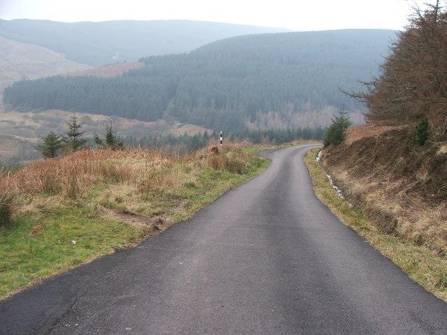 The road to Dalsmirren.
