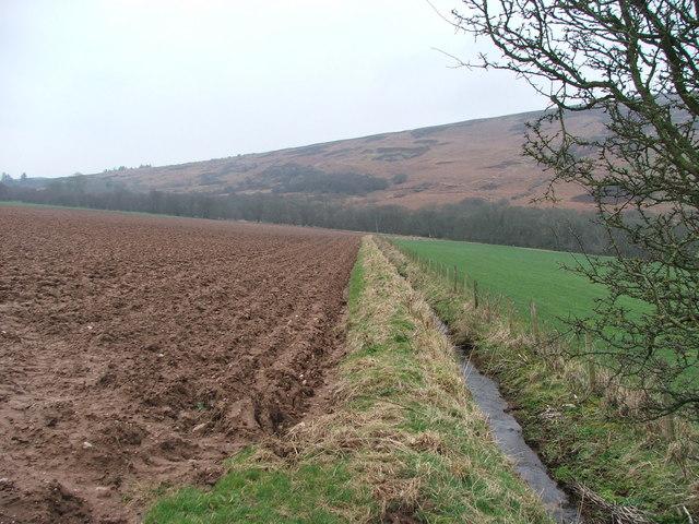 Farmland in Glen Breackerie.