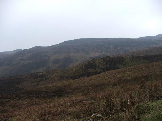 Top of Borgadale Glen.