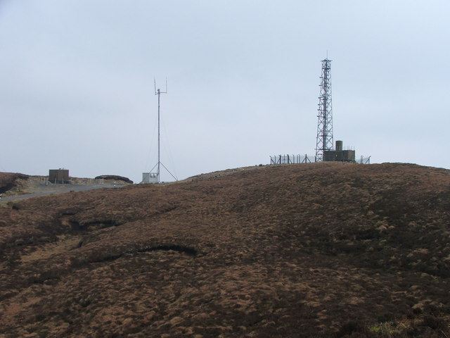 Masts on Tor Mor.