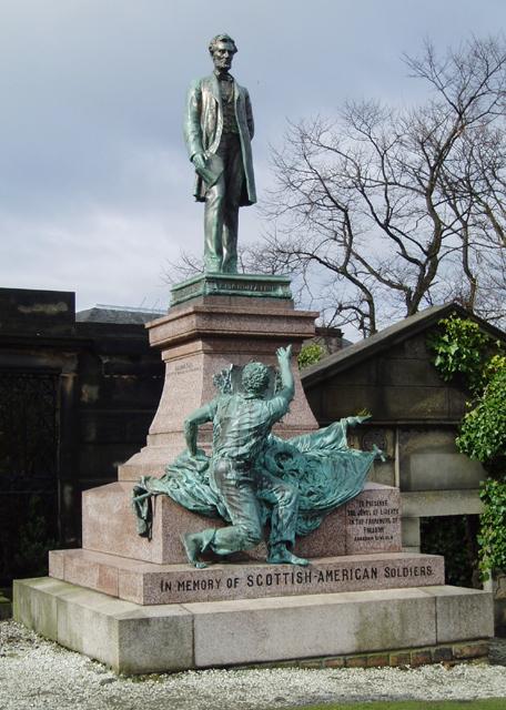 The Emancipation Monument, Edinburgh