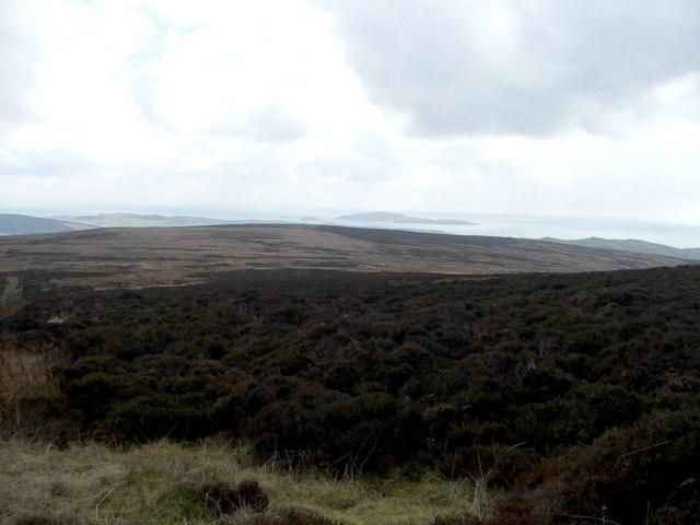 Moorland near Cnoc Odhar.