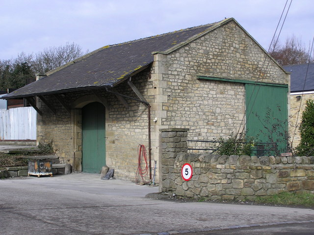 Winston Station : Goods Shed