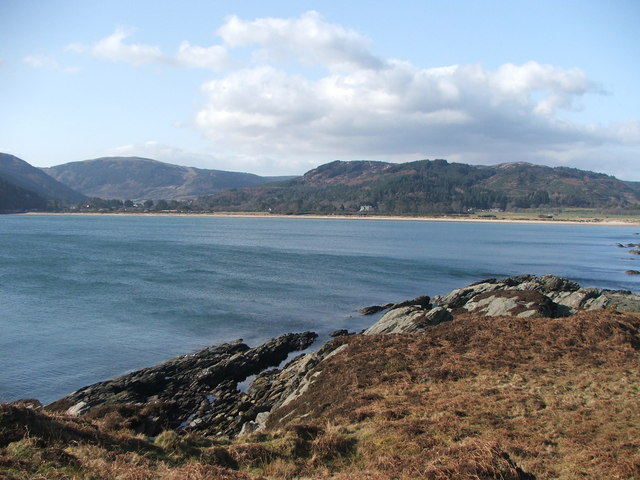 Carradale Bay.