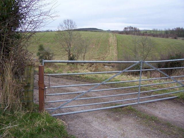 Barred gate.