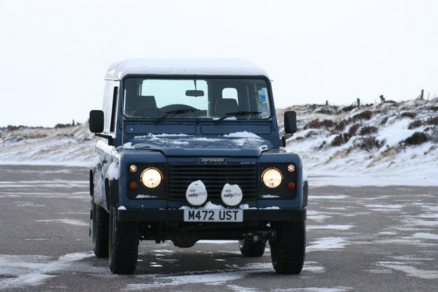 Landy at Top of the Cairn O' Mount