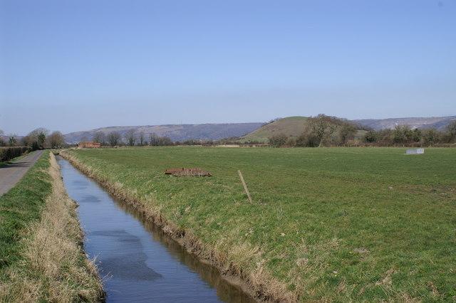 Rhyne on Stoke Moor