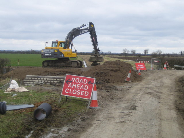 Road Closed, Bassingham Fen