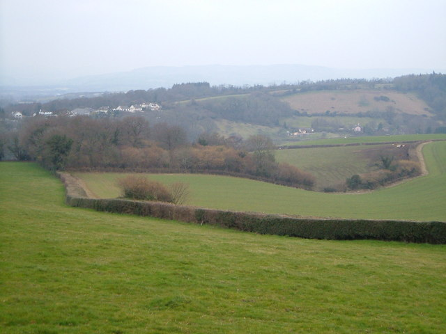 Ideford Combe from Hestow Road