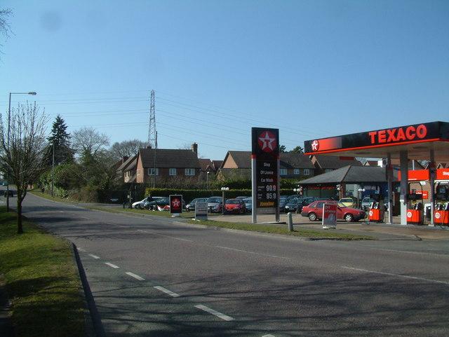 Petrol Station, Stapehill, Dorset