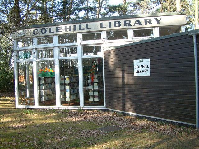 Colehill Library, Colehill, Dorset