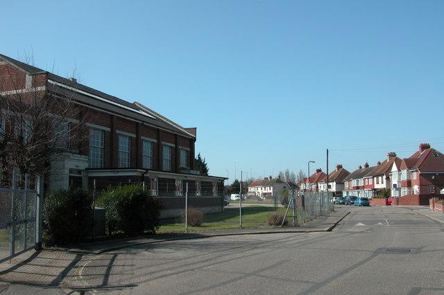 TA Centre on Tudor Crescent, Cosham.