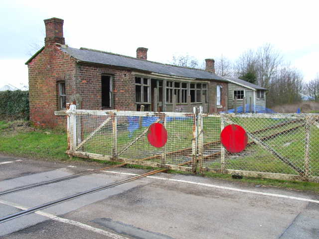The old railway station at Scruton