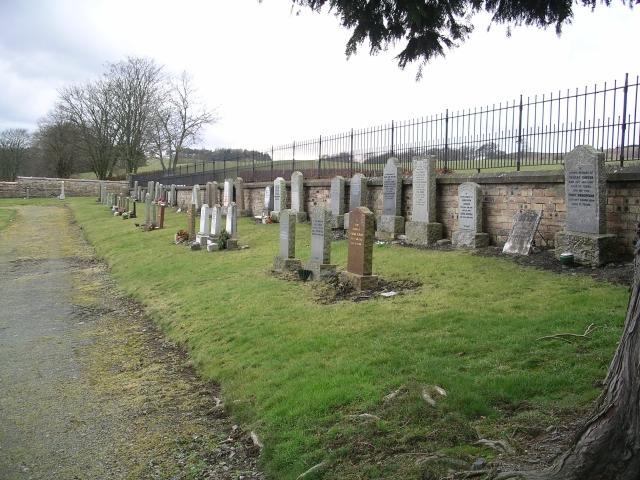 Cemetery, Eddleston
