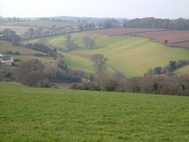 Valley north of Holcombe